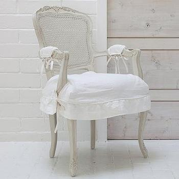 Seating - Rachel Ashwell Shabby Chic Couture Darcy Chair with Arms - darcy, chair, arms