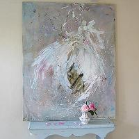 Art/Wall Decor - Laurence Amelie Painting of Tutus - laurence, amelie, painting of tutus, art