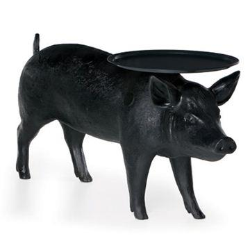Tables - Moooi Pig Table - Style # MOTPIG----B, Modern Small Tables, Contemporary Small Tables, Side Tables at SWITCHmodern.com - pig, table