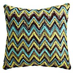 Pillows - Product Details - Cool Chevron Yarns Pillow - chevron, yarns, pillow