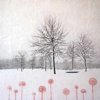 Art/Wall Decor - Arleigh Wood / Always blooming / Affordable Artwork / Canadian Art / Gallery / Framing / Canvas / Art Interiors - Toronto, ON - arleigh wood, always blooming, art
