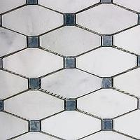 Tiles - Long Octagon Tiles | Saltillo Imports Inc. - marble, mosaics, long, octagon, tiles