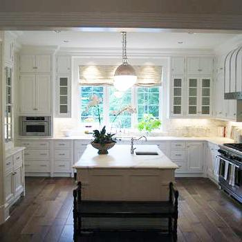 U Shaped Kitchen, Traditional, kitchen, Phoebe Howard