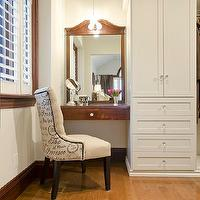 Floating Vanity Contemporary Closet
