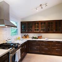 Lejla Eden Interiors - kitchens - kitchen, quartz countertops, marble backsplash,  Kitchen