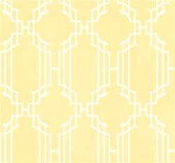 Wallpaper - Lattice Sidewall Wallpaper - York Wallcoverings - yellow, lattice, wallpaper