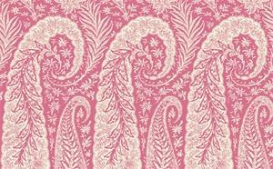Wallpaper - Lattice Wallpaper in Whites and Reds from the Dolce Vita Collection by Antonina Vella - Seabrook Designs - dolce vita, paisley, wallpaper, red