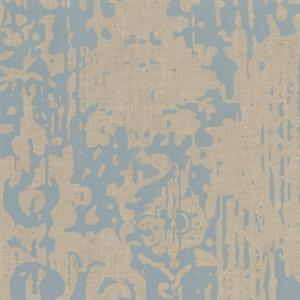 Majestic Wallpaper in Blue and Beige by York