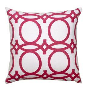 Fuchsia Trellis Pillow
