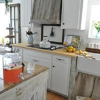 kitchens - kitchens, vent hood, reclaimed lumber, farmhouse,  Homemade reclaimed wood vent hood