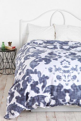 Bedding - UrbanOutfitters.com > Plum & Bow Damask Duvet Cover - plum, bow, damask, duvet