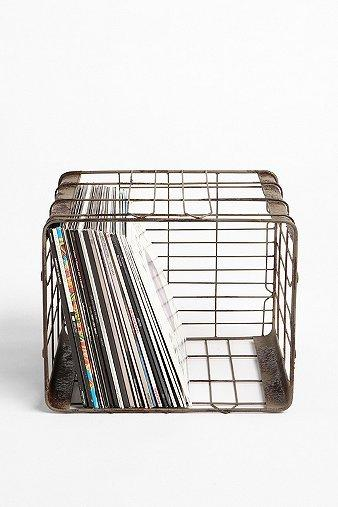 Decor/Accessories - UrbanOutfitters.com > Wire Storage Basket - wire, storage, basket