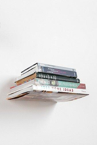 Art/Wall Decor - UrbanOutfitters.com &gt; Invisible Book Shelf - invisible, bookshelf