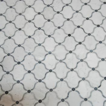 Pretty Pink Tulips - bathrooms: floor tile, moroccan tile, moroccan tile floor, moroccan floor tile,  Amazing Moroccan style MJ Aladdin Tiles