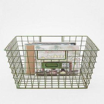 Decor/Accessories - UrbanOutfitters.com > Wire Locker Basket - wire, locker, basket
