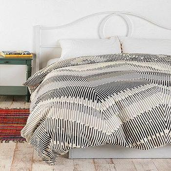 Bedding - UrbanOutfitters.com > Magical Thinking Linear Chevron Duvet Cover - magical thinking bedding, magical thinking duvet