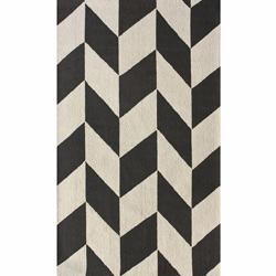 Handmade Luna Chevron Wool Rug (7'6 x 9'6), Overstock.com