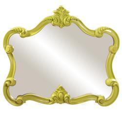 Mirrors - Glossy Green Veruca Mirror | Overstock.com - glossy, green, veruca, mirror