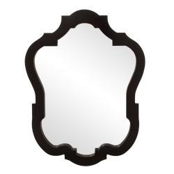 Mirrors - Audrey Glossy Black Mirror | Overstock.com - audrey, glossy, black, mirror