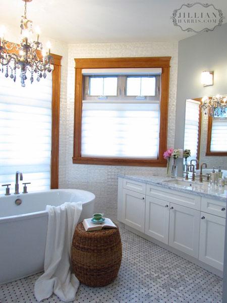 Seagrass Stool Vintage Bathroom Jillian Harris