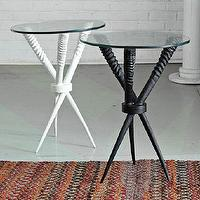 Tables - Source Oryx Side Table | west elm - source, onyx, side, table