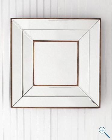 Mirrors - Olivia Square Mirror - Garnet Hill - olivia, square, mirror
