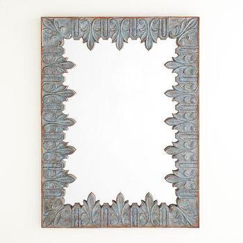 Mirrors - Acanthus Leaf Mirror | Mirrors | Wisteria - acanthus, leaf, mirror