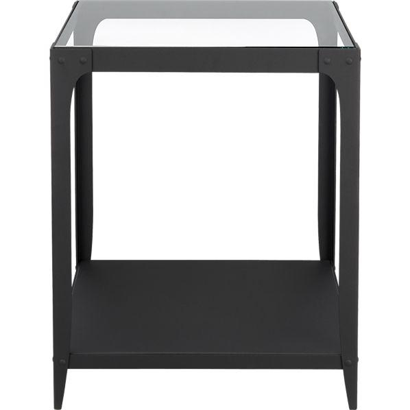 Tables - Arc Side Table in New Furniture | Crate and Barrel - arc, side, table