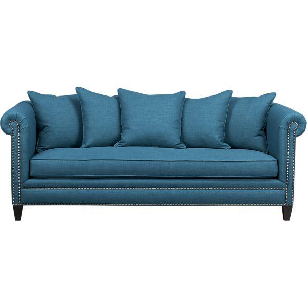 Seating - Tailor Sofa in New Furniture | Crate and Barrel - tailor, sofa
