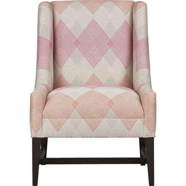 Seating - Chloe Chair in Chairs | Crate and Barrel - chloe, chair