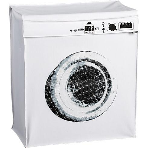 Bath - washing machine hamper in bath accessories | CB2 - washing machine, hamper