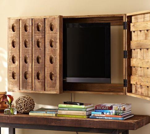 Art/Wall Decor - Riddling Rack Media Solution | Pottery Barn - riddling, rack