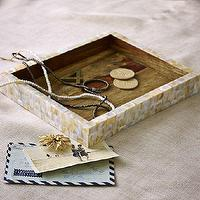 Decor/Accessories - Mother-Of-Pearl Catchall | west elm - mother of pearl, tray, catch all