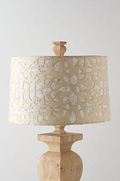 Lighting - Scrolled Web Shade - Anthropologie.com - scrolled, web, shade