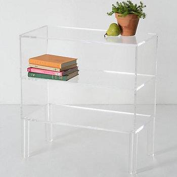 Illusion Bookshelf, Anthropologie.com