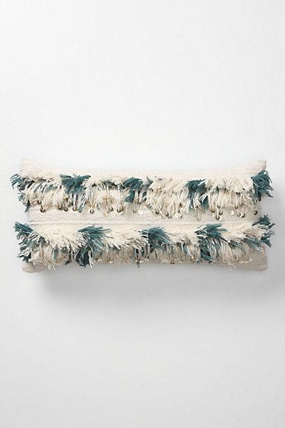Pillows - Sparkler Pillow, Turquoise - Anthropologie.com - sparkler, pillow, turquoise