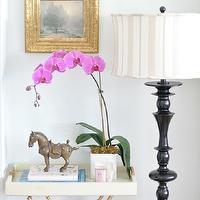 Heron Black Floor Lamp
