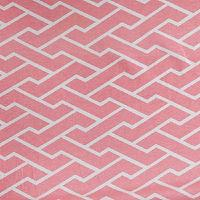 Fabrics - Caitlin Wilson Textiles: Pink City Maze Fabric - pink, city, maze, fabric