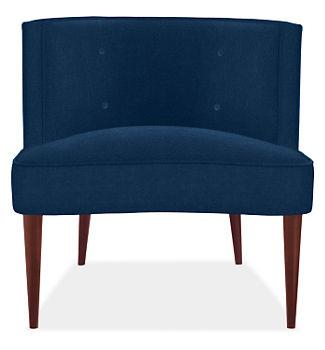 Chloe Chair in Vance Fabric, Chairs, Living, Room & Board