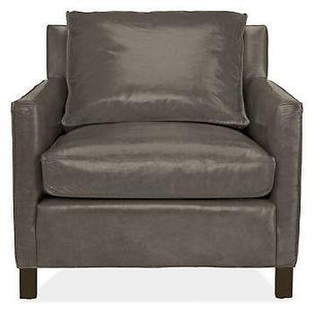 Bram Leather Chair & Ottoman, Chairs, Living, Room & Board