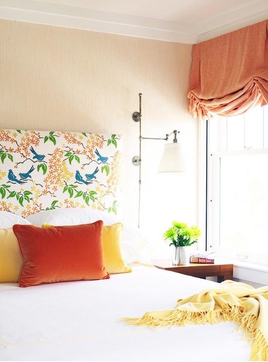 Paul Frank Bedroom In A Box: Orange Roman Shade