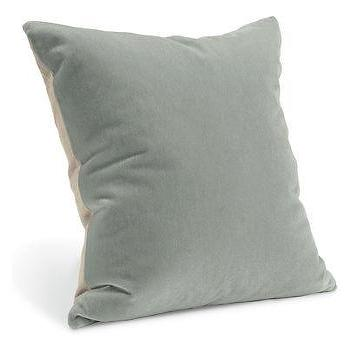 Pillows - Mohair Sky Pillows - Pillows - Accessories - Room & Board - mohair, sky, pillow