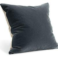 Pillows - Mohair Ink Pillows - Pillows - Accessories - Room & Board - mohair, ink, pillow