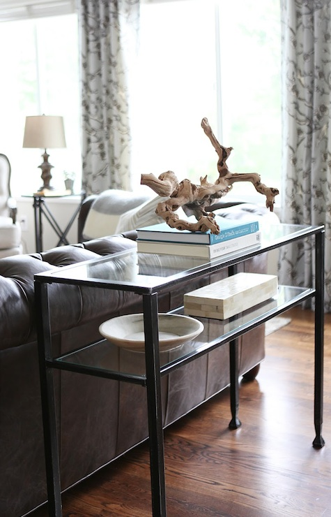 Pottery Barn Tanner Console Table Transitional Living