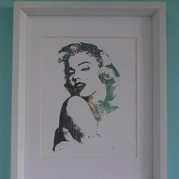 Art/Wall Decor - Mariyln Monroe Sterling Silver by ISeeNoise on Etsy - sterling silver, marilyn, monroe, art, print