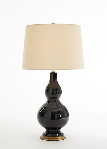 Lighting - Avery Table Lamp in Midnight | Vielle and Frances - avery, table, lamp, midnight