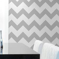 Art/Wall Decor - Chevron Wall Stencil Large Stencil to Paint by royaldesignstencils - chevron wall stencil,