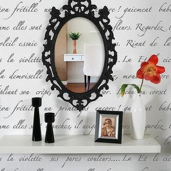 Typography Wall Stencil Springtime in by royaldesignstencils