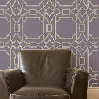 Great Modern Trellis Wall Stencil for by royaldesignstencils