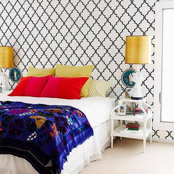 Wall Stencil Casablanca Trellis Allover by royaldesignstencils